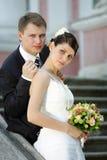 Заново пожененные пар пары Стоковое Фото