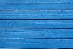 Заново покрашенная деревянная стена Стоковые Фото