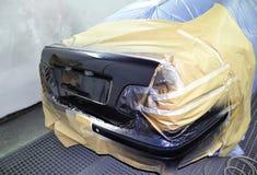 заново покрашенный автомобиль Стоковое фото RF