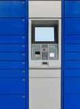 Заново установленная не пока активированная машина ATM, Стоковые Фото