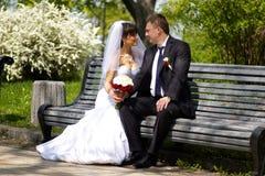 Заново wedded пары Стоковое Изображение