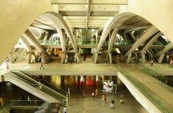 Занятая жизнь на вокзале Стоковое Изображение