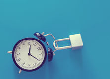 Занятая концепция времени Стоковое Изображение