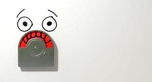 Занятая красная разочарованная порча Стоковые Фото