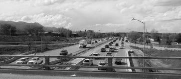 Занятая дорога шоссе Стоковые Изображения RF