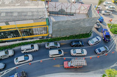 Занятая дорога Стоковая Фотография