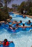 Занятность Aquatica Waterpark в пустыне стоковые фото