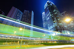 Занятое движение в Гонконге стоковые фотографии rf