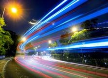 Занятое движение на дороге стоковое изображение rf