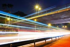 Занятое движение на дороге стоковая фотография rf