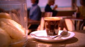 Занятое кафе видеоматериал