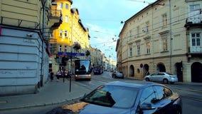 Занятое citycenter Краков видеоматериал