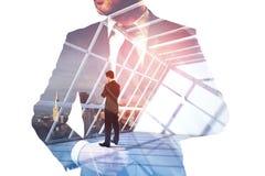 Занятость и завтра концепция стоковое изображение