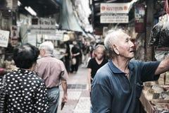 Занятый переулок Стоковая Фотография RF