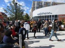 Занятый фестиваль падения в октябре Стоковая Фотография RF