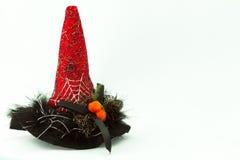 Заострённая красная шляпа Стоковые Изображения RF