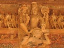 Западная группа в составе виски Khajuraho, место наследия ЮНЕСКО, известна  стоковые фото
