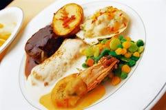 Западная еда Стоковое Изображение RF
