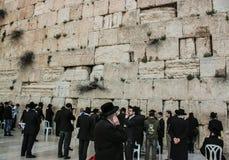 Западная стена, Иерусалим, 03 04 2015, западная стена Иерусалим с Стоковое фото RF