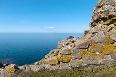 Западная сторона острова Борнхольма - Дании Стоковые Изображения RF