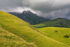 Западное Кавказ Стоковое Изображение