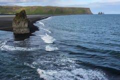 Западное побережье Исландии стоковые изображения