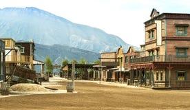 Западный городок стоковое фото rf