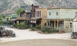 Западный городок стоковое изображение rf