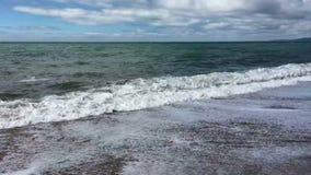 Западный залив - юрское побережье - Дорсет - Англия сток-видео