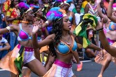 Западный индийский парад Hartford Коннектикут стоковое изображение