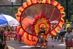 Западный индийский парад Hartford Коннектикут стоковое фото