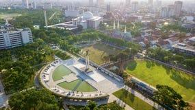 Западный памятник высвобождения Irian в Джакарте Стоковое фото RF