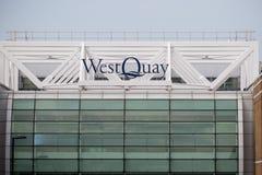 Западный торговый центр набережной, Саутгемптон, Великобритания Стоковое Фото