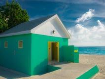 Западный туалет Пляж-публики залива стоковые изображения