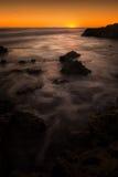 запад австралийского захода солнца яркий стоковое фото