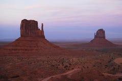 Запад и восточный Butte Mitten стоковая фотография rf