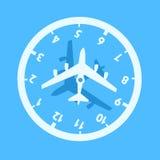 Запаздывание двигателя/jetlag бесплатная иллюстрация