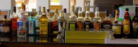 Запасенный бар в Вест-Инди стоковые изображения