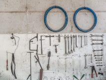 Запасные части и инструменты Стоковая Фотография