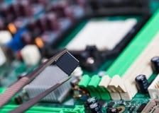 Запасные части для ремонта электронного стоковое фото rf