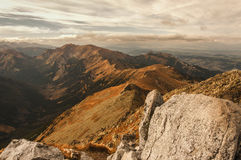 запас горы ландшафта karadag Крыма осени национальный Стоковые Фото