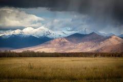 запас горы ландшафта karadag Крыма осени национальный Стоковое фото RF