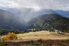 запас горы ландшафта karadag Крыма осени национальный Лыжный курорт Goldeck Австралии Стоковая Фотография