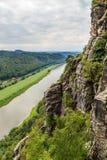 Запас горы Bastei Saxon Швейцария Стоковое Изображение