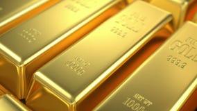Запас золота иллюстрация вектора