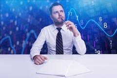 Запас и концепция финансов Стоковое Фото