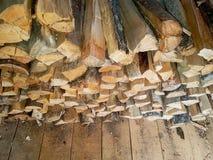 Запас древесины Стоковое Изображение
