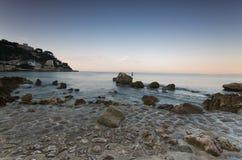запас plage la de Франции славный Стоковые Фото
