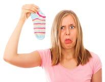 Запах ноги Стоковые Фото