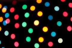 запачкает яркое покрашенное светлое multi Стоковые Изображения RF